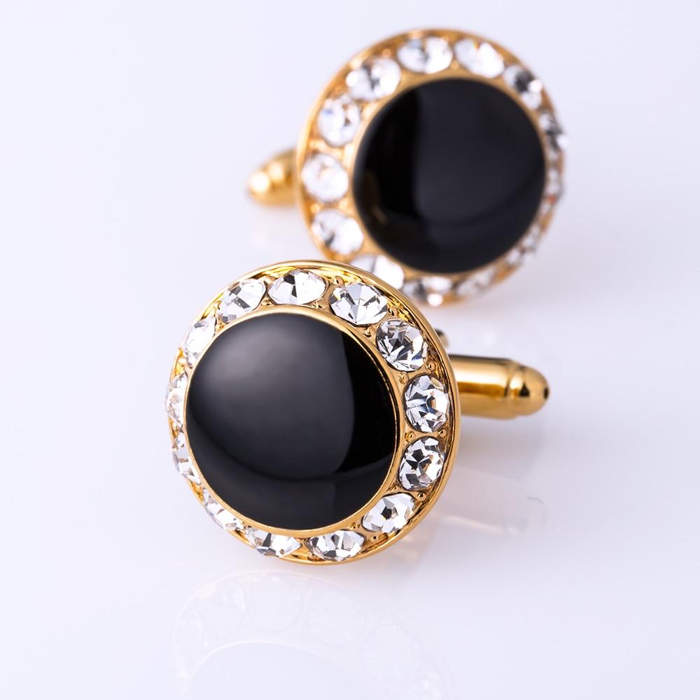 KFLK Perhiasan kemeja perancis manset untuk pria Merek Kristal manset - Perhiasan fashion - Foto 6