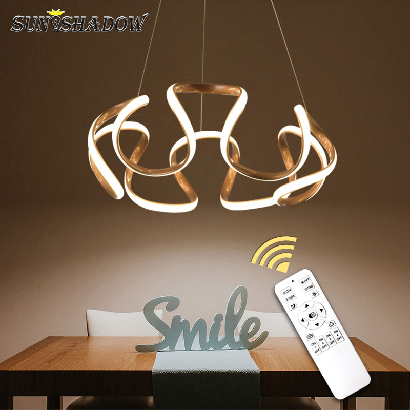 Modern Led Chandelier Lustre Gold Lamp Led Ceiling Chandelier Lighting For Living room Bedroom Dining room Kitchen Lampara Techo