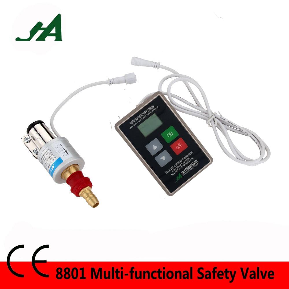 JA8801 Dn 15 Smart Timer control valve self Close solenoid brass valve kitchenware Cook Set magnetic valve 1/2