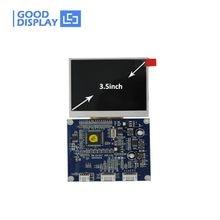 Free Shipping 320X240 resolution Video,VGA signal input Digital 3.5 inch TFT LCD monitor