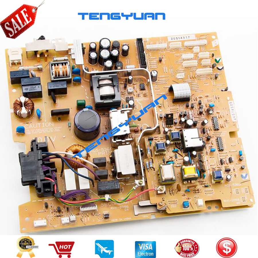 Free shipping 100% test original for hp4100 Power Supply Board RG5-5359 RG5-5359-240(110V) RG5-5360 RG5-5360-050 (220V)on sale free shipping original 2p p1 11123f tamura power supply board wrap board s39235k original 100