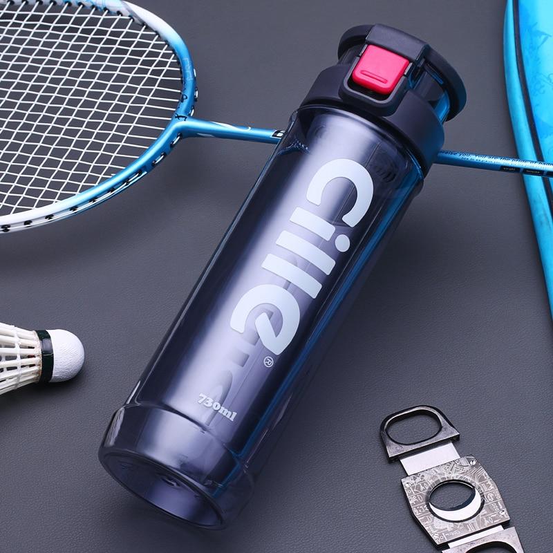 2017 New Arrival 730ml Sports Water Bottle Plastic