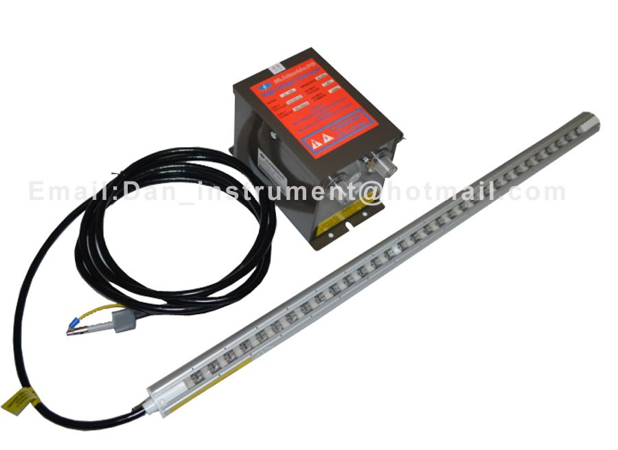 Static Charge Removing Bar for printing Machine