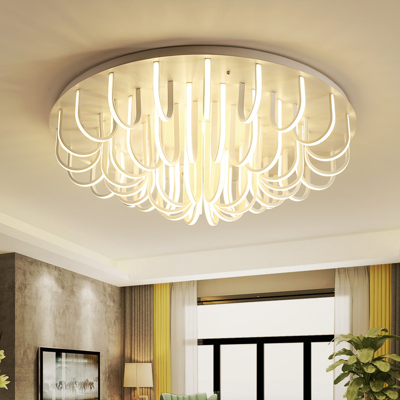 Modern novelty Living Room Ceiling Lights Creative Bird's Nest Fixtures LED Ceiling Lamps Bedroom Nordic Ceiling Lighting modern led ceiling lights nordic living room fixtures novelty crystal bedroom ceiling lamps iron glass ceiling lighting