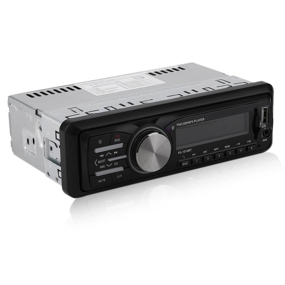 Reproductor de Audio del coche Reproductor de Radio de la Ayuda FM MP3 Bluetooth