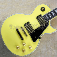 Guitars Mahogany Yellow Body 6 strings Chinese Musical Instruments Guitarra Electric Free Shipping