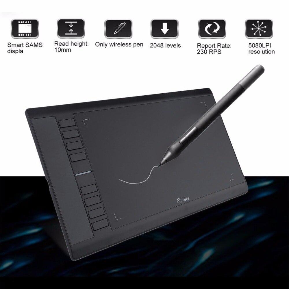 Ugee 358mm 210mm Drawing Tablet Digital Tablet Graphics Drawing Tablet Pad Hand Writing Board Drawing Pen