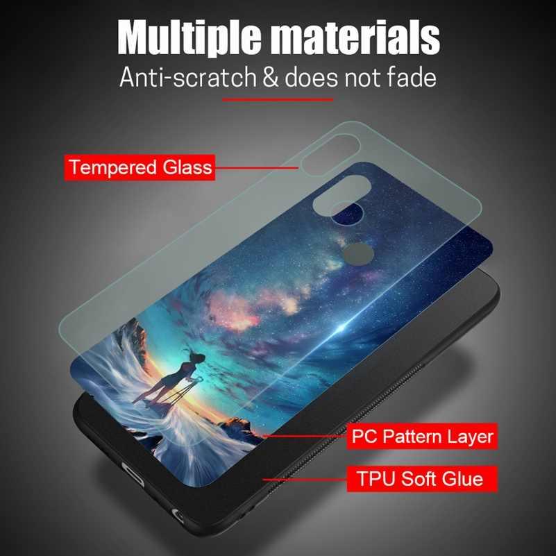 Закалённое Защитное стекло для сяо mi красный mi Примечание 5 6 Pro глобальных 5 плюс 6A 4X Cover Xio mi чехол для телефона для Xiaomi mi A2 Lite A1 5X
