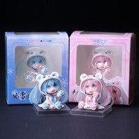 Anime Hatsune futuri kawaii mini PVC toy Action Figure Da Collezione Model Toy Figurine Bambola per accessori per Ufficio regalo di compleanno
