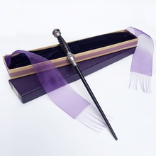 2017 Metal/Iron Core Narcissa Malfoy Magic Wand/ Harry Potter Magical Wand/ Elegant Ribbon Gift Box Packing