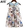 A15 party girls vestido de tamaño 12 6 3 8 10 años de la princesa vestido de La Muchacha Trajes 2017 Nuevo Verano Vestido de Niña de las Flores para el Partido y boda