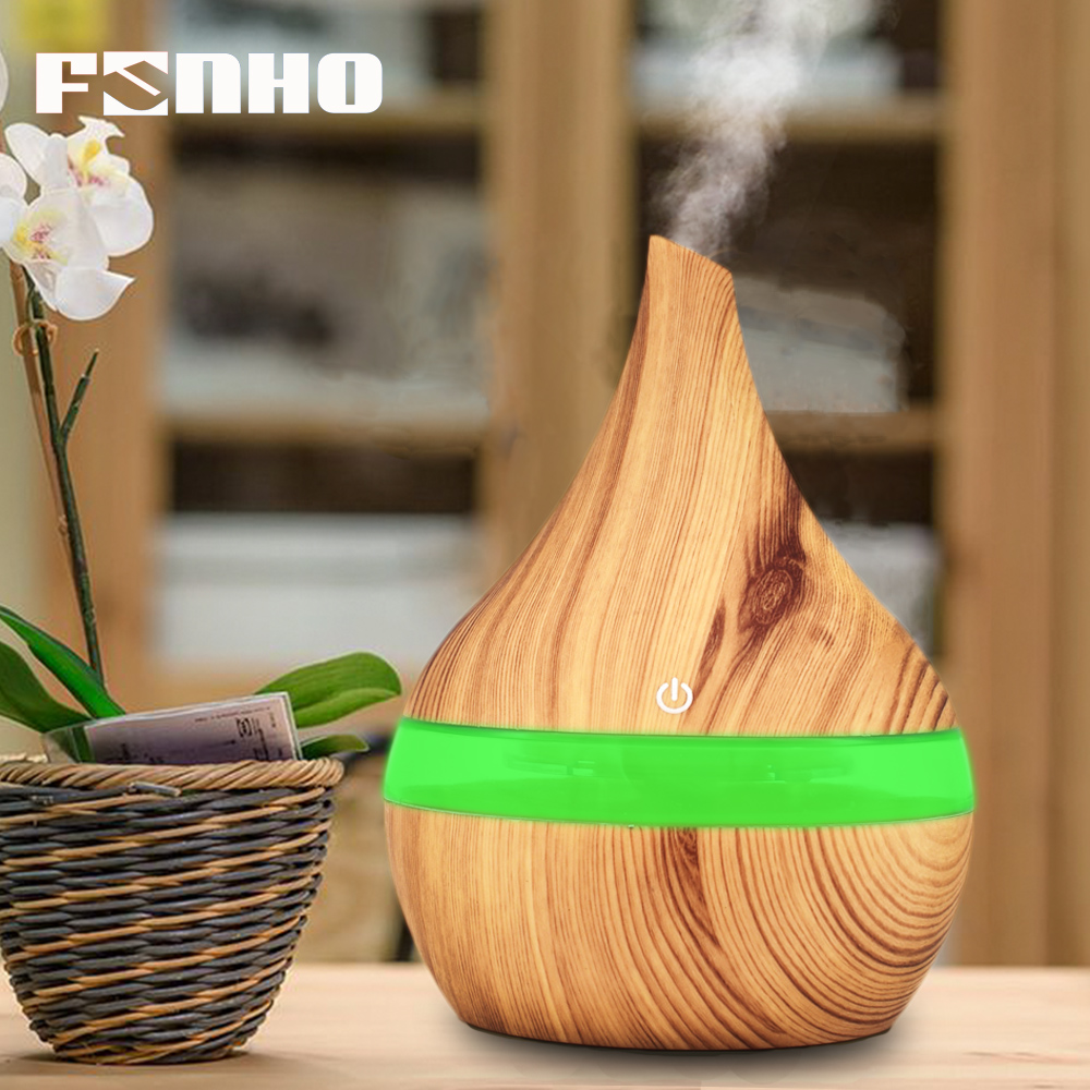 FUNHO 300 ml Aroma Huile Essentielle Diffuseur Mistmaker Portable Usb Air Humidificateur Aroma Diffuseur Mist Diffuseur Brumisateur Air Vaporisateur