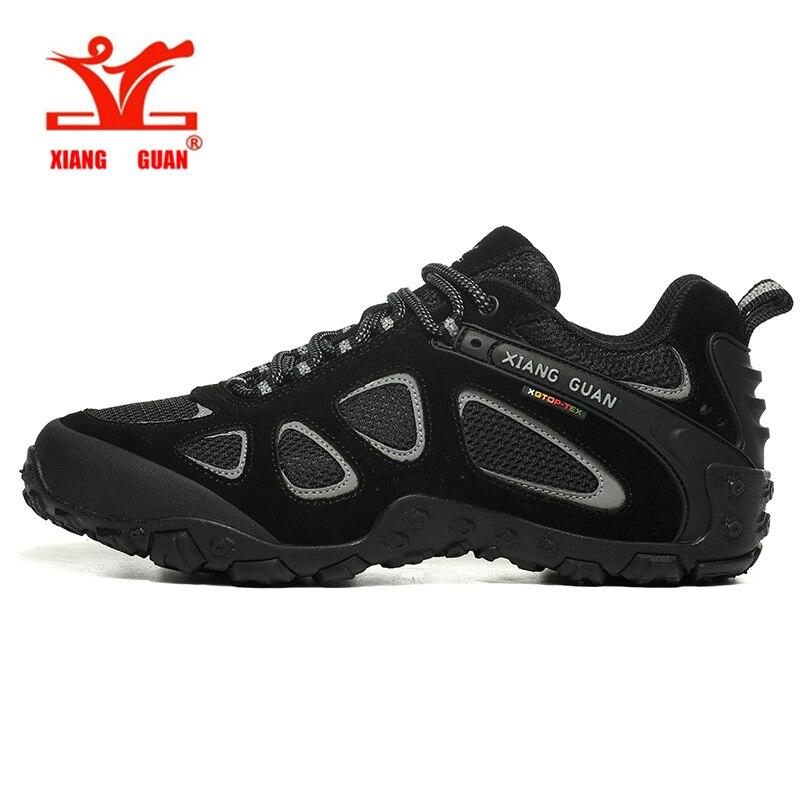 Xiang Guan haute qualité chaussures de randonnée nouveau Design anti-dérapant Trekking baskets hommes en plein air marche escalade chaussures