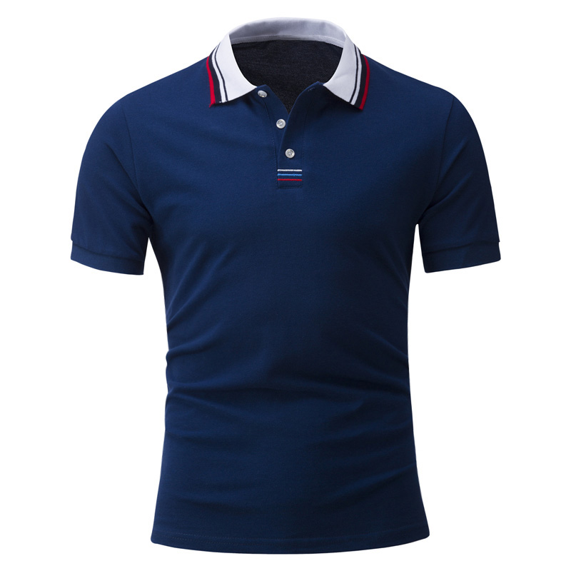 New fashion 2017 brand mens polo shirt solid short sleeve for Latest shirts for mens 2017
