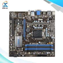 MSI H55M-P31 Original Used Desktop Motherboard H55 Socket LGA 1156  i3 i5 i7 DDR3 16G SATA2 USB2.0 Micro-ATX