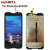 LCD For 5 Blackview BV5000 LCD Display Touch Panel Screen 100 Tested Digitizer Assembly Replacement For