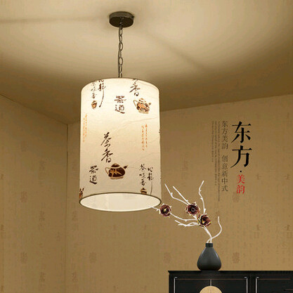 Chinese rural style fabric printing art Pendant Lights Creative elegant antique birdcage lamp for stairs&porch&corridor VPU009 great spaces home extensions лучшие пристройки к дому