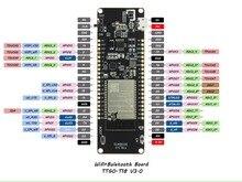 TTGO T enerji ESP32 8MByte PSRAM WiFi ve Bluetooth modülü 18650 pil ESP32 WROVER B geliştirme kurulu