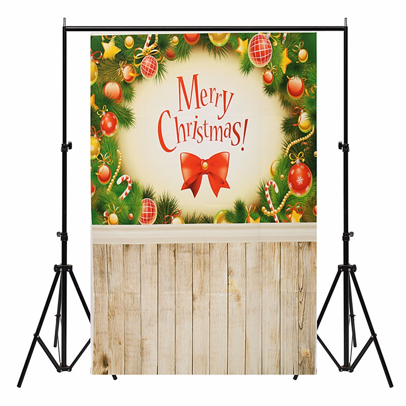 xft vinilo fotografa fondo photo studio atrezzo merry christmas pared piso de madera nios teln