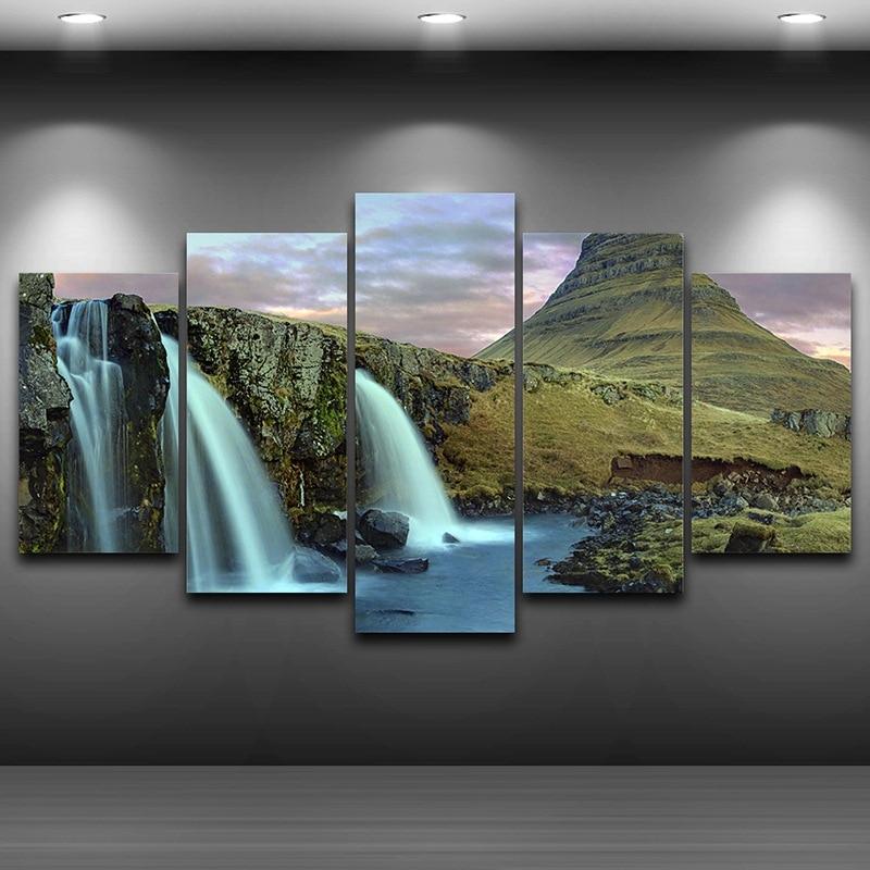Waterfall Wall Art popular framed waterfall wall art-buy cheap framed waterfall wall