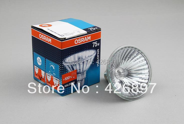 2pcs OSRAM 64841 FL 75W HALOPAR 30 ALU halogen lamp 64841FL 230V E27 ES FLOOD 30