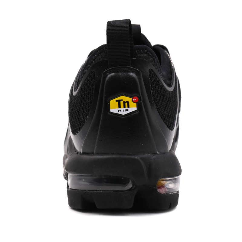 Homem Nike Air Max Mais Tn Tênis de Corrida Respirável Anti-slip Esportes Tênis 898015