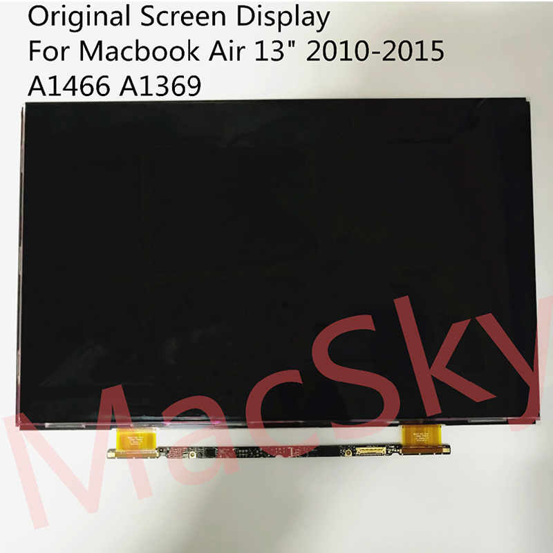 """Nouvelle matrice d'affichage 13.3 """"A1369 pour Macbook Air 13"""" A1466 LP133WP1-TJA7 d'écran LCD LP133WP1 NT133WGB-N81 2010-2017"""
