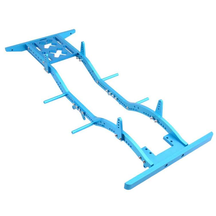 Free Shipping D90 RC Crawler Car Chassis RC4WD Girder D90/B5/JK Wrangler/Axial SCX10 RC Car Frame 430mm Spare Parts