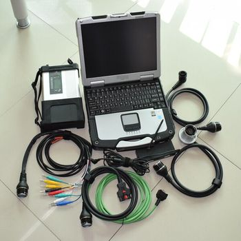 mb sd connect compact 5 star c5 with laptop toughbook cf-30 ram 4g with software super ssd full set diagnosis ready to use