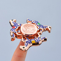 Colorful Horse Autism And ADHD Kids Adult Hand Spinner Rotate Little Horse High Speed Rotation Long
