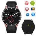 Kw88 smart watch relógio de pulso frequência cardíaca android 5.1 wcdma gps relógio do esporte rodada completa wi-fi smartwatch inteligente bluetooth 4.0