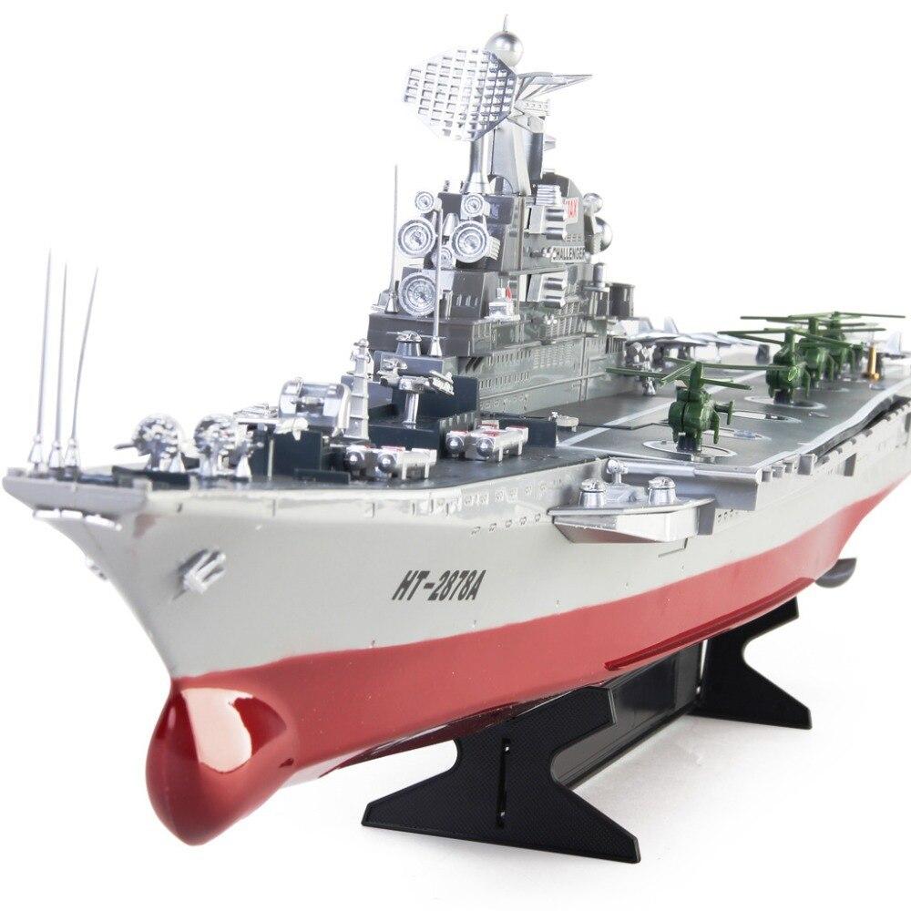 Новый RC лодка огромный авианосец Модель Challenger авианосец дистанционное управление высокая моделирования военные игрушки EMS Бесплатная