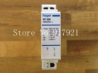 [ZOB] Hagrid SP208 surge protection device 4 8KA lightning 1P+N spot genuine new Hagrid 5PCS/LOT