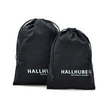 50 adet pamuklu çantalar takı paket ambalaj bez toz geçirmez İpli çanta hediye paketi parti ayakkabıları ambalaj çuval özel Logo baskı