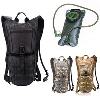 REEBOW TACTICAL Military Bottle Pouch Tactical Hydration Backpack Water bag Camping Camelback Nylon Hydration 3L