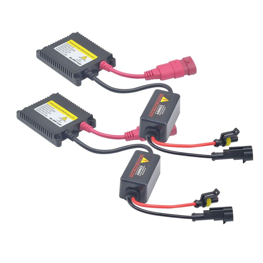 Satu set H7 xenon HID kit 55 W untuk lampu mobil lampu H4 H8 H9 H11 - Lampu mobil - Foto 3