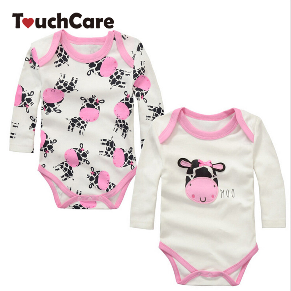 Cartoon Cotton Baby Rompers Spring Summer Autumn LongSleeve Baby Wear Infant Jumpsuit Boys Girls Clothes Roupas De Bebe Infantil newborn baby clothing spring long sleeve cotton baby rompers cartoon girls clothes roupas de bebe infantil boys costumes