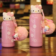 vkstory  Boreal instagram cup hello kitty style ceramic thermos ornament Resin home decoration Figurines