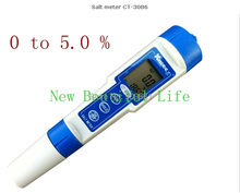 Ручка Типа Цифровой Солемер Портативный Электронный Солемер Диапазон: 0.0 ~ 5.0% Точность: 0.2% Водонепроницаемый Соленость Тестер CT-3086