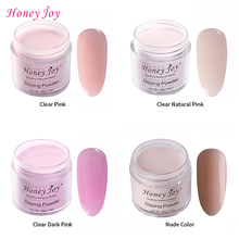 28g/Box Clear Natural Dark Pink Easy-To-Use Dip Powder Nails Dipping Long-lasting No UV Light Needed Safe Odorless