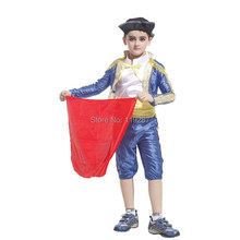 Children's Party Supplies Spanish Matador masquerade cosplay costume Halloween Costume For Kids boys dance clothing Costume