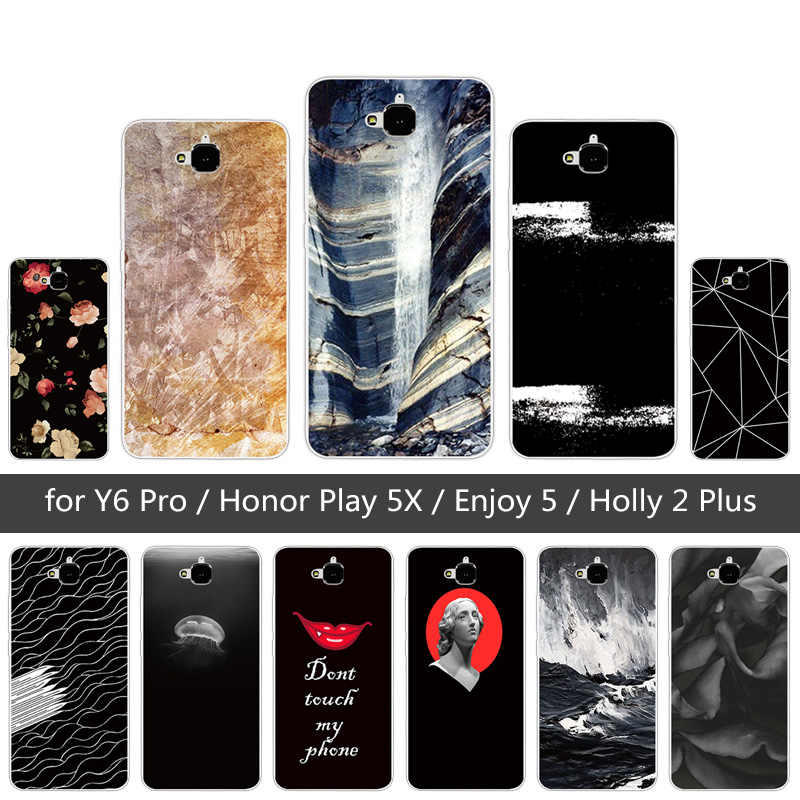 Étui pour Huawei Honor 4C Pro TIT-AL00 Y6 Pro TIT-L01 profiter de 5 Honor Holly 2 Plus couverture de fantaisie pour Huawei Honor Play 5X