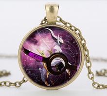 Pokemon Purple Crystal Ball Pendant