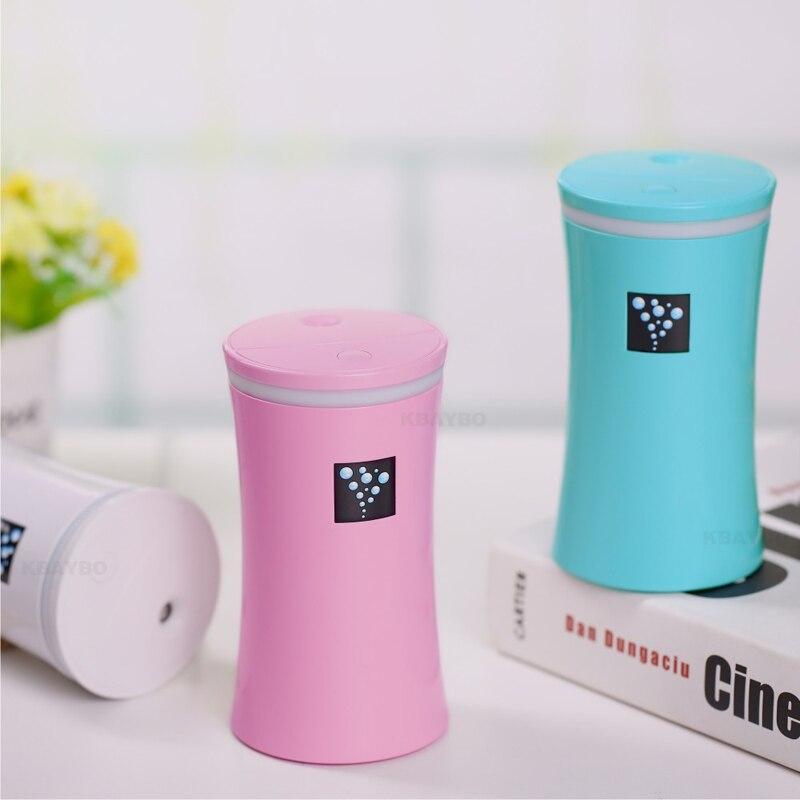 230ML Ultrasonic Humidifier USB Car Humidifier Mini Aroma Essential Oil Diffuser Aromatherapy Mist Maker Home Office