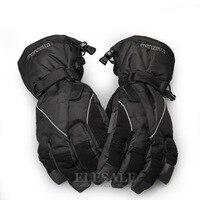 新しい冬暖かい手袋表面防水抗横滑り作業手袋用屋外作業雪かき雪スキースポーツ手を保