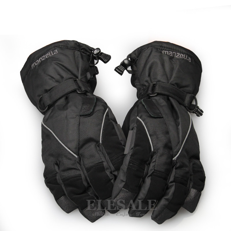 New Winter Warm Gloves Surface Waterproof Anti-Skidding Work Gloves For Outdoor Work Shoveling Snow Skiing Sports Hands Protect new mens leather waterproof screen gloves mittens for male winter windproof ski super driving warm proctive gloves