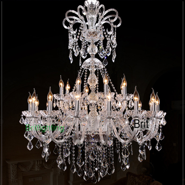 Classic Murano Chandeliers For Luxury Hotel In Florence: Nowoczesne żyrandole żyrandole światła Doprowadziły