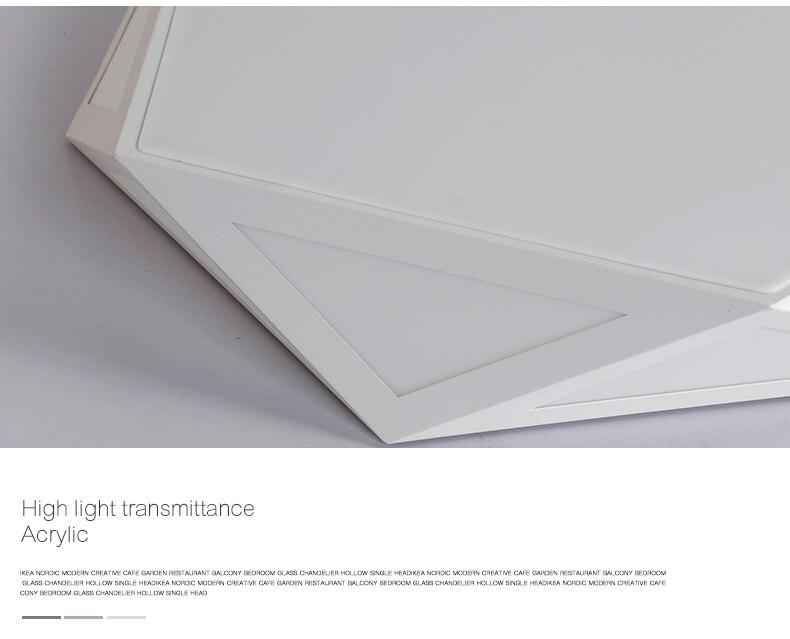 Plafoniere Led Ikea : Großhandel deckenleuchte oberfläche der geometrie kreative led