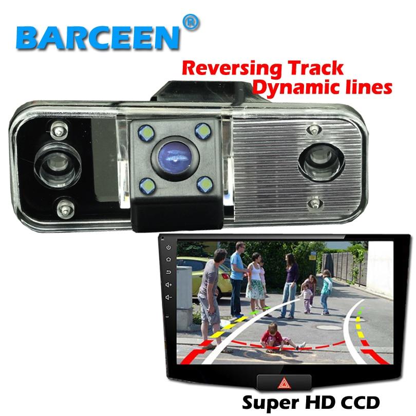 For yundai new Santafe Santa Fe Azera higest night vision car rearview camera 170 lens angle