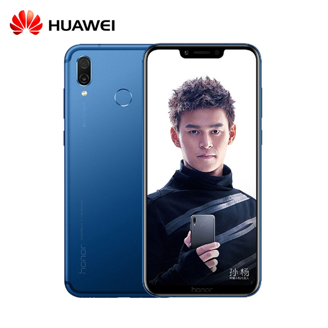 Original Huawei Honor Play 6G 64G 6.3 inch Kirin 970 Octa Core Mobile Phone Dual Rear Camera game phone Face ID
